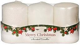 """Parfüm, Parfüméria, kozmetikum Illatgyertya készlet - Artman """"Merry Christmas"""" (candle/3 x 22g)"""