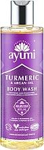 """Parfüm, Parfüméria, kozmetikum Tusfürdő """"Kurkuma és argánolaj"""" - Ayumi Turmeric & Argan Oil Body Wash"""