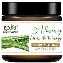 Parfüm, Parfüméria, kozmetikum Arckrém aloe verával - Eco U Aloe Face Cream