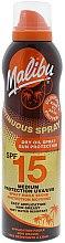 Parfüm, Parfüméria, kozmetikum Napvédő száraz olaj - Malibu Continuous Dry Oil Spray SPF 15