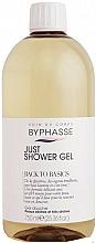Parfüm, Parfüméria, kozmetikum Tusfürdő száraz és nagyon száraz bőrre - Byphasse Back To Basics Just Shower Gel Dry And Very Dry Skin
