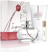 Parfüm, Parfüméria, kozmetikum Avon HerStory - Szett (edp/50ml + edp/10ml + b/lot/150ml)