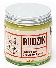 """Parfüm, Parfüméria, kozmetikum Illatosított gyertya """"Vörösbegy"""" - Cztery Szpaki"""