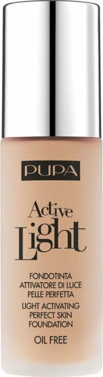 """Alapozó """"Természetes ragyogás"""" - Pupa Active Light SPF10"""