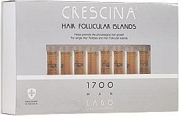 Parfüm, Parfüméria, kozmetikum Hajnövekedés stimuláló lotion férfiaknak 1700 - Crescina Hair Follicular Islands Re-Growth 1700