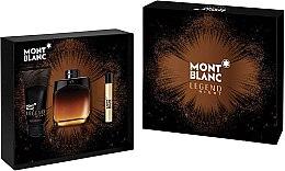 Parfüm, Parfüméria, kozmetikum Montblanc Legend Night - Szett (edp/100ml + edp/7.5ml + ash/balm/100ml)