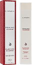 Parfüm, Parfüméria, kozmetikum Mélytisztító sampon festett hajra - L'Anza Healing ColorCare Clarifying Shampoo
