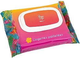 Parfüm, Parfüméria, kozmetikum Csillogó törlőkendő arcra és testre - Peggy Sage Glitter Wipes