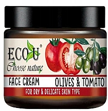 """Parfüm, Parfüméria, kozmetikum Arckrém """"Paradicsom és olívabogyó"""" - Eco U Face Cream"""