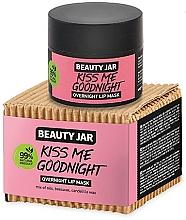 Parfüm, Parfüméria, kozmetikum Éjszakai ajak maszk - Beauty Jar Kiss Me Goodnight Overnight Lip Mask