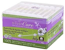 Parfüm, Parfüméria, kozmetikum Gyerek fültisztító pálcika, 56db - Silver Care Coton