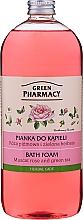 """Parfüm, Parfüméria, kozmetikum Gyógynövényes fürdőhab """"Muskotály rózsa és zöld tea"""" - Green Pharmacy"""