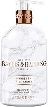 Parfüm, Parfüméria, kozmetikum Folyékony szappan - Baylis & Harding White Tea & Vitamin E Hand Wash