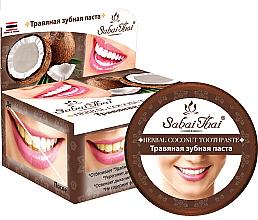 """Parfüm, Parfüméria, kozmetikum Gogkrém """"Kókusz"""" - Sabai Thai Herbal Coconut Toothpaste"""