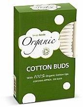 Parfüm, Parfüméria, kozmetikum Fültisztító pálcika - Simply Gentle Organic Cotton Buds