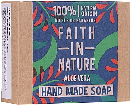 Parfüm, Parfüméria, kozmetikum Szappan aloe verával - Faith In Nature Aloe Vera Soap