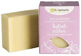 Parfüm, Parfüméria, kozmetikum Bio szappan hárs és mályva kivonattal - La Saponaria Linden and Mallow Soap
