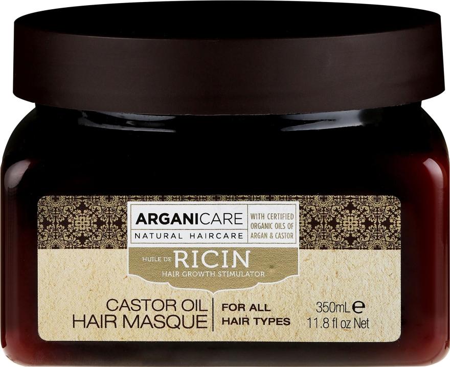 Hajnövesztő maszk - Arganicare Castor Oil Hair Masque
