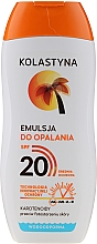 Parfüm, Parfüméria, kozmetikum Vízálló napozó emulzió - Kolastyna Suncare Emulsion SPF20