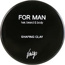 Parfüm, Parfüméria, kozmetikum Hajmodellező agyag - Vitality's For Man Shaping Clay