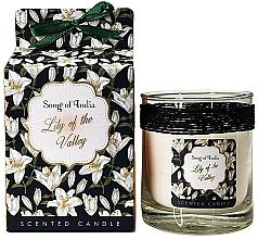 """Parfüm, Parfüméria, kozmetikum Illatosított gyertya üvegben """"Jázmin"""" - Song of India Lily of the Valley Candle"""