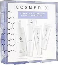 Parfüm, Parfüméria, kozmetikum Szett - Cosmedix Clarifying & Cleansing 4-Piece Essentials Kit (f/cleanser/60ml + f/ser/15ml + f/mask/30g + f/cr/15ml)