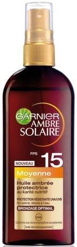 Önbarnító olaj spray SPF 15 - Garnier Ambre Solaire