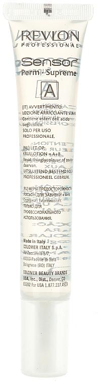 Dauervíz festett hajra - Revlon Professional Sensor Perm-Supreme — fotó N4