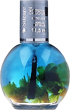 Parfüm, Parfüméria, kozmetikum Köröm- és körömágybőr olaj virágokkal - Silcare The Garden Of Colour Vanilla Sky Blue