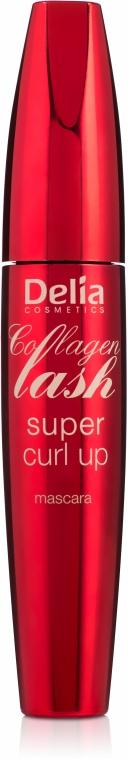 Szempillaspirál - Delia Collagen Lash Super Curl Up
