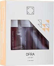 Parfüm, Parfüméria, kozmetikum Folyékony matt rúzs szett - Ofra Espresso Lip Set (lipstick/3x8g)