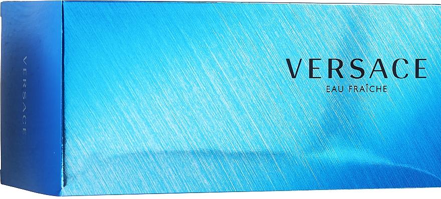 Versace Man Eau Fraiche - Készlet (edt/100ml + sh/gel/100ml + bag) — fotó N1