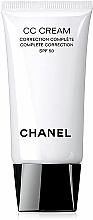 Parfüm, Parfüméria, kozmetikum Bőrszín egységesítő CC-krém - Chanel CC Cream Complete Correction SPF50