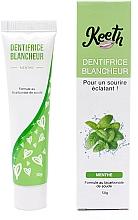Parfüm, Parfüméria, kozmetikum Fehérítő fogkrém menta ízzel - Keeth Mint-flavoured Whitening Toothpaste