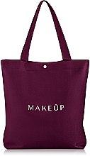 """Parfüm, Parfüméria, kozmetikum Bordó bevásárlótáska """"Easy Go"""" - MakeUp"""