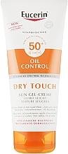 Parfüm, Parfüméria, kozmetikum Napvédő ultra könnyű gél-krém mattító hatással - Eucerin Oil Control Dry Touch Sun Gel-Cream SPF50+