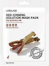 Parfüm, Parfüméria, kozmetikum Szövetmaszk - Lebelage Red Ginseng Solution Mask