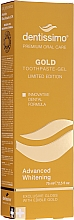 Parfüm, Parfüméria, kozmetikum Fogfehérítő krém-gél - Dentissimo Advanced Whitening Gold Toothpaste