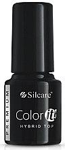 Parfüm, Parfüméria, kozmetikum Fedő gél lakk - Silcare Color IT Premium Hybrid Top Coat Gel