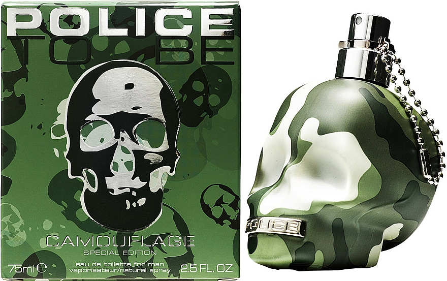 Police To Be Camouflage - Eau De Toilette