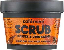 """Parfüm, Parfüméria, kozmetikum Testradír """"Kávé és fahéj"""" - Cafe Mimi Body Scrub Coffee & Cinnamon"""