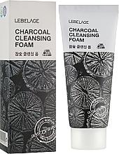 Parfüm, Parfüméria, kozmetikum Szenes tisztiító hab - Lebelage Charcoal Cleansing Foam