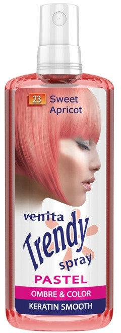 Hajszínező spray - Venita Trendy Pastel Spray