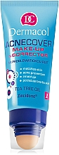 Parfüm, Parfüméria, kozmetikum Alapozó krém korrektorral - Dermacol Acnecover Make-Up and Corrector