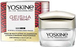 Parfüm, Parfüméria, kozmetikum Ránctalanító multi-lifting krém - Yoskine Geisha Gold Secret Anti-Wrinkle & Multi-Lift 3D Cream