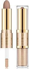 Parfüm, Parfüméria, kozmetikum Kontúrozó és highlighter - Milani Contour & Highlight Cream & Liquid Duo
