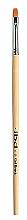 Parfüm, Parfüméria, kozmetikum Téglalap alakú szintetikus gél lakk ecset - IBD Gel Brush №6 Flat