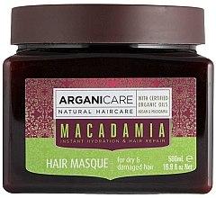 Parfüm, Parfüméria, kozmetikum Maszk száraz és sérült hajra - Arganicare Macadamia Hair Masque for Dry & Damaged Hair