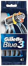 Parfüm, Parfüméria, kozmetikum Eldobható borotva szett, 4db - Gillette Blue 3