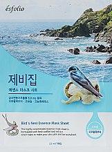 "Parfüm, Parfüméria, kozmetikum Szövetmaszk ""Fecskefészek kivonat"" - Esfolio Bird's Nest Essence Mask Sheet"